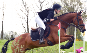 Felicity Ward (The Illusionist) on their way to winning the O/CNC2* class at Kilguilkey, April 2014 (Photo: Tadhg Ryan)